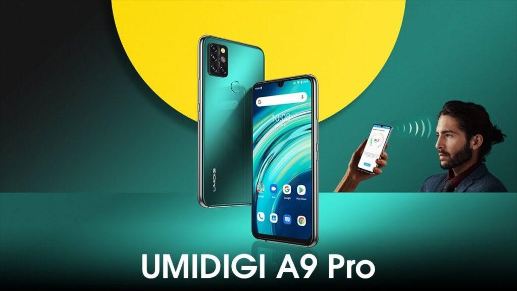 Smartphone UMIDIGI A9 Max com 8GB de RAM, custando menos de 200 dólares