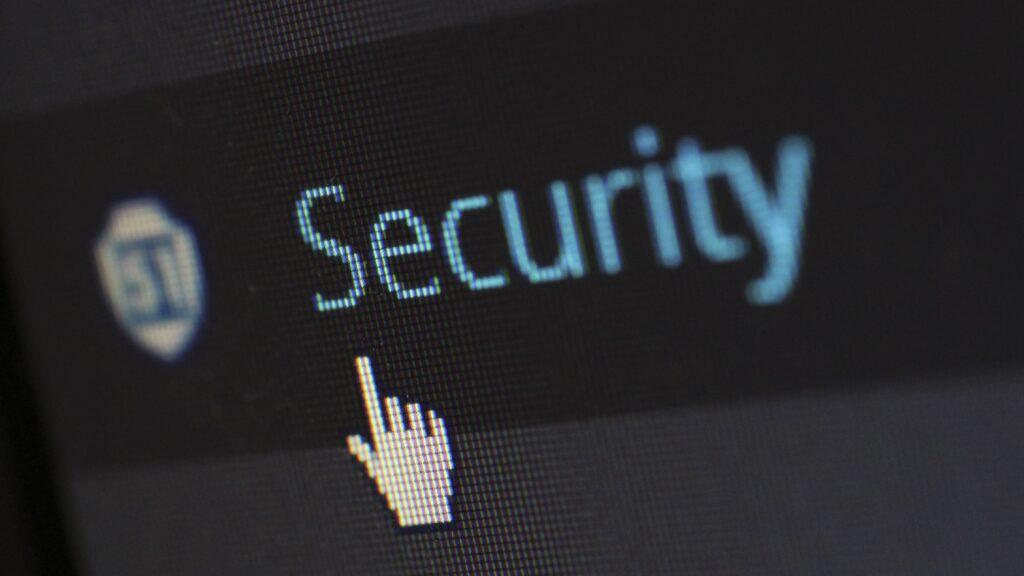 Ícone de segurança em computador